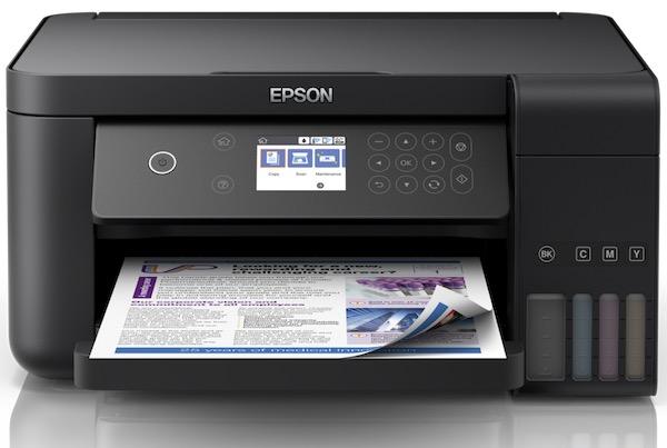 Сброс памперса Epson L6160 и прошивка принтера