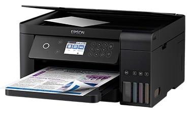 Сброс памперса Epson L6168 и прошивка принтера