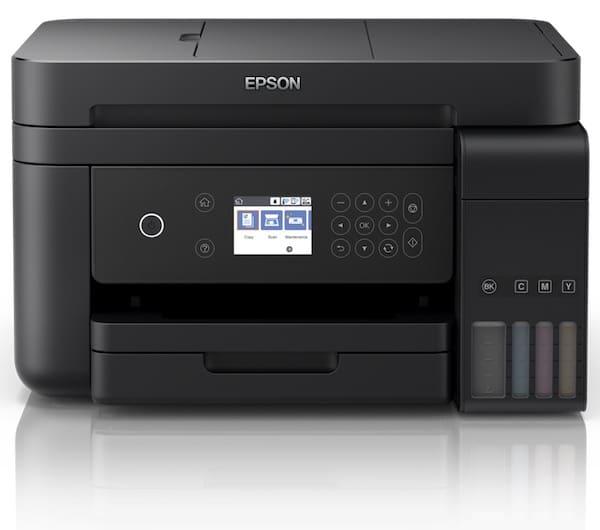 Сброс памперса Epson L6170 и прошивка принтера