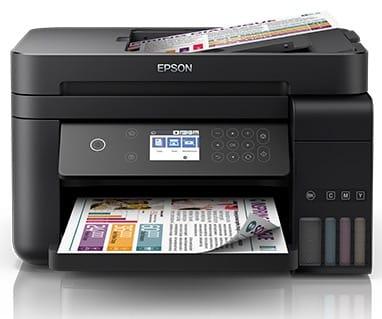 Сброс памперса Epson L6178 и прошивка принтера