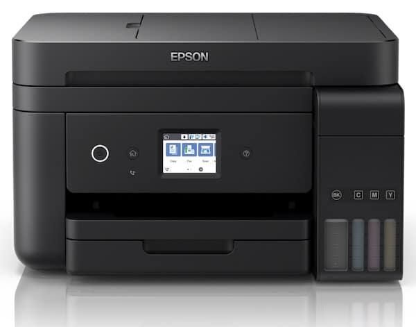 Сброс памперса Epson L6190 и прошивка принтера