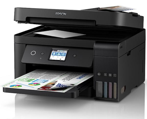 Сброс памперса Epson L6198 и прошивка принтера