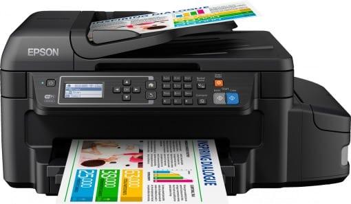Сброс памперса Epson L655 и прошивка принтера