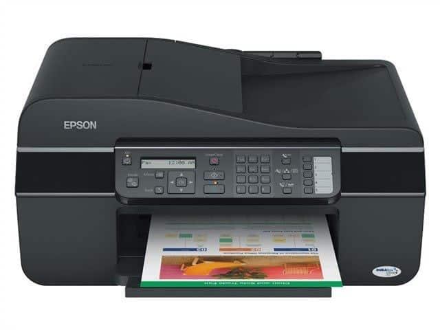 Сброс памперса Epson ME Office 600F