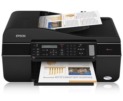 Сброс памперса Epson ME Office 650FN