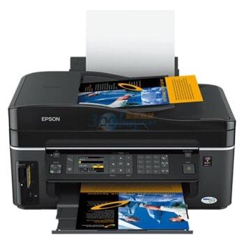 Сброс памперса Epson ME Office 700FW и прошивка принтера