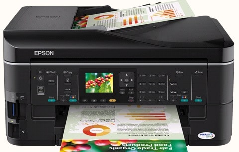 Сброс памперса Epson ME Office 960FWD