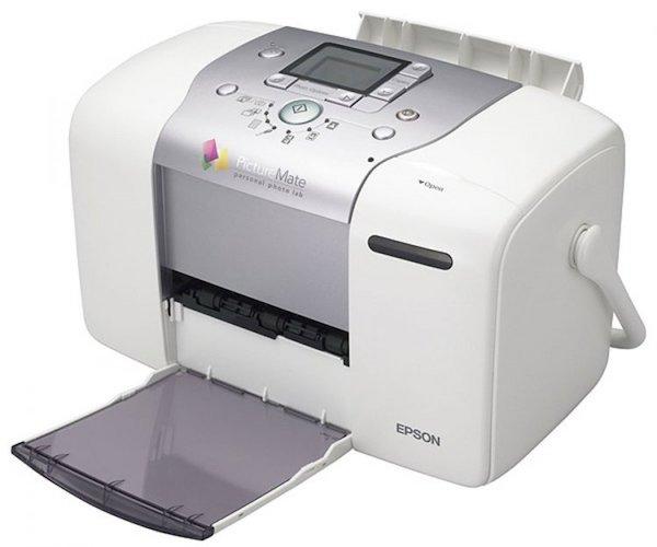 Сброс памперса Epson PictureMate PM100