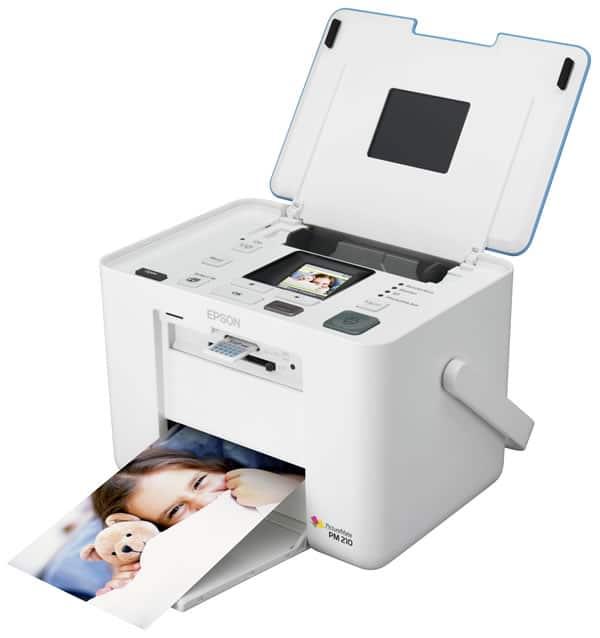 Сброс памперса Epson PictureMate PM210