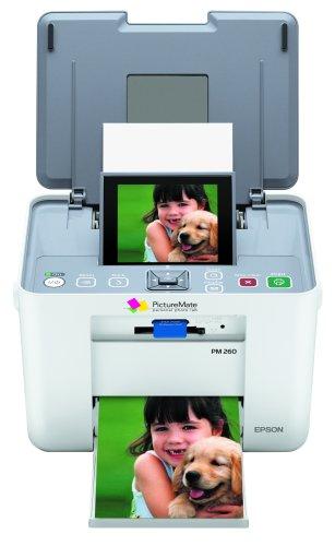 Сброс памперса Epson PictureMate PM260