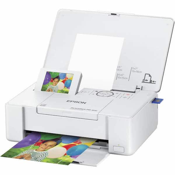 Сброс памперса Epson PictureMate PM400