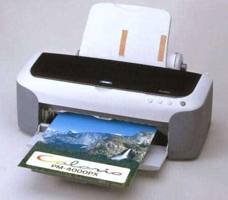 Сброс памперса Epson PM-4000PX
