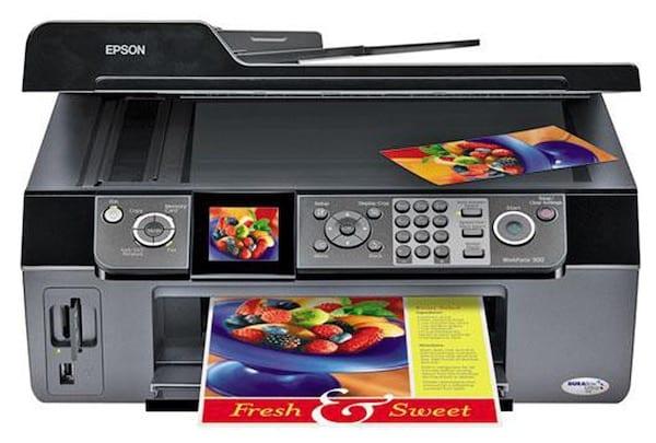 Сброс памперса Epson PX-1700F и прошивка принтера