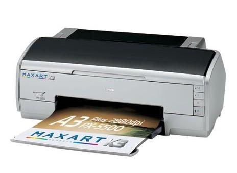 Сброс памперса Epson PX-5500