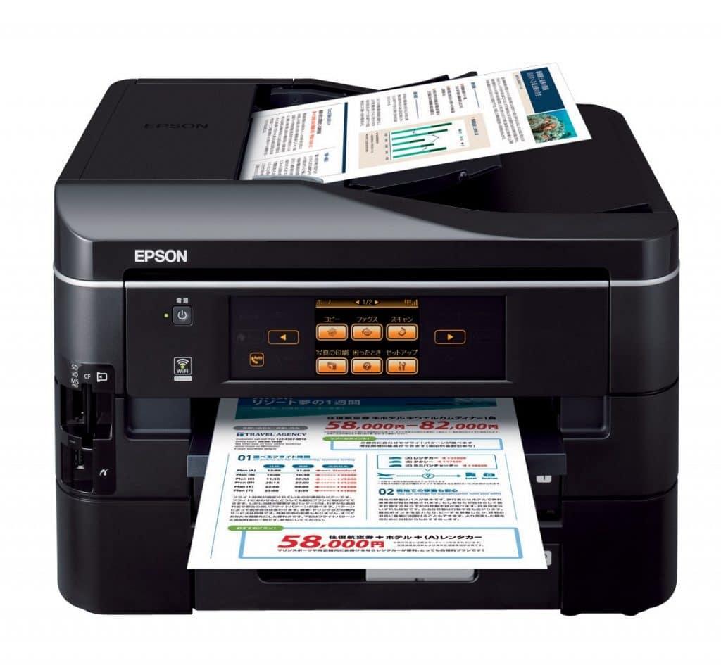 Сброс памперса Epson PX-673F и прошивка принтера