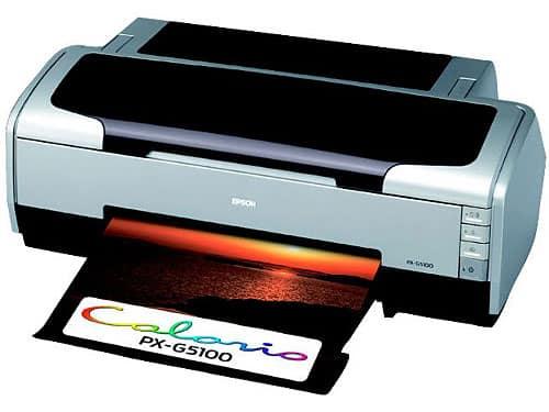 Сброс памперса Epson PX-G5100