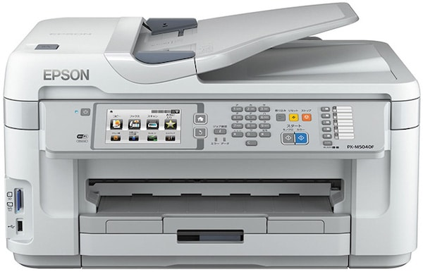 Сброс памперса Epson PX-M5040F и прошивка принтера