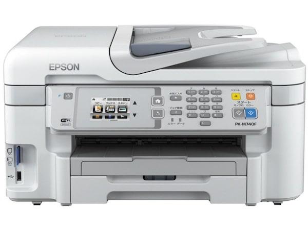 Сброс памперса Epson PX-M740F и прошивка принтера