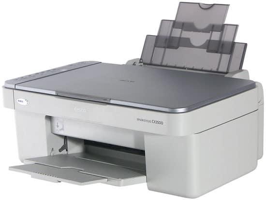 Сброс памперса Epson Stylus CX3500