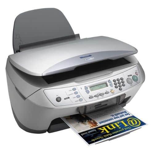 Сброс памперса Epson Stylus CX6600