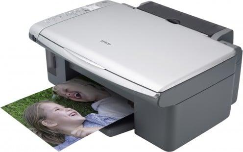Сброс памперса Epson Stylus DX4800