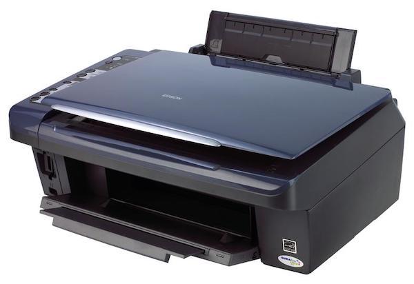 Сброс памперса Epson Stylus DX7400