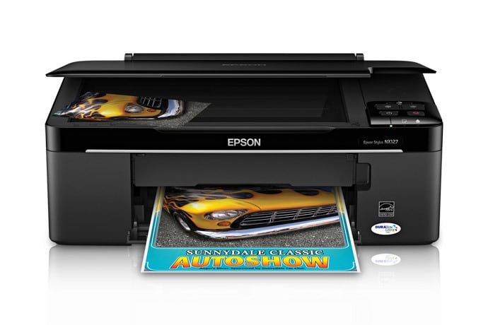 Сброс памперса Epson Stylus NX127