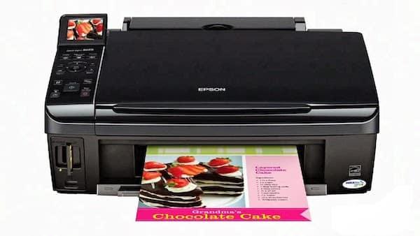 Сброс памперса Epson Stylus NX200 и прошивка принтера