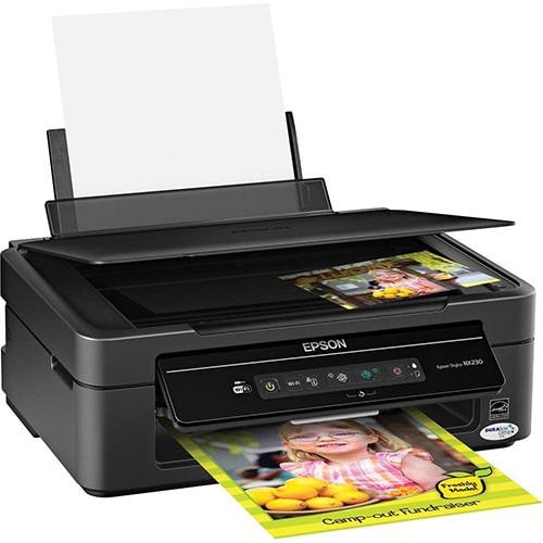 Сброс памперса Epson Stylus NX230 и прошивка принтера