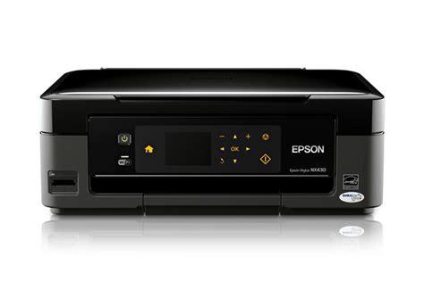 Сброс памперса Epson Stylus NX430 и прошивка принтера