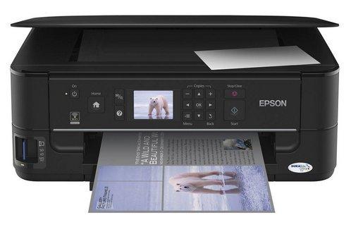 Сброс памперса Epson Stylus NX635 и прошивка принтера