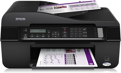 Сброс памперса Epson Stylus Office BX320FW и прошивка принтера
