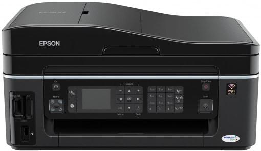 Сброс памперса Epson Stylus Office BX610FW