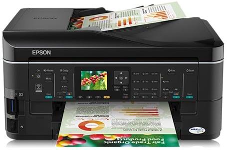 Сброс памперса Epson Stylus Office BX620FWD и прошивка принтера