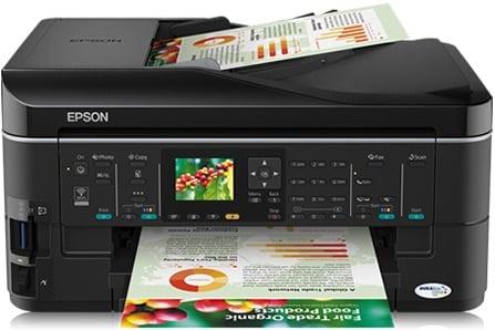 Сброс памперса Epson Stylus Office BX625FWD