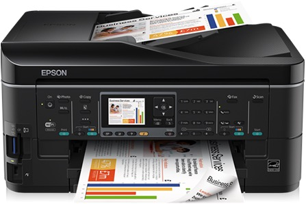 Сброс памперса Epson Stylus Office BX635FWD