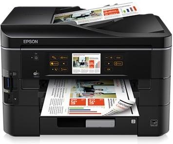 Сброс памперса Epson Stylus Office BX935FWD и прошивка принтера