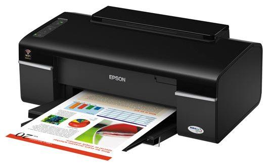 Сброс памперса Epson Stylus Office T40W