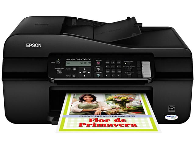 Сброс памперса Epson Stylus Office TX320F