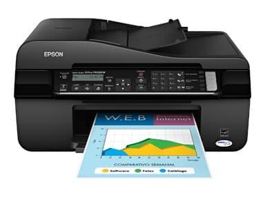 Сброс памперса Epson Stylus Office TX525FW и прошивка принтера