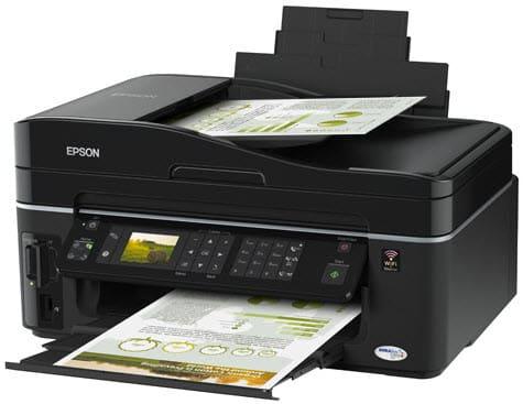 Сброс памперса Epson Stylus Office TX610FW
