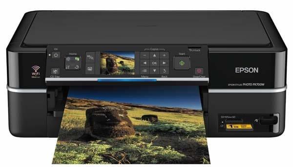 Сброс памперса Epson Stylus Photo PX700W и прошивка принтера