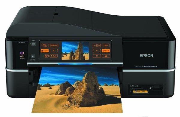 Сброс памперса Epson Stylus Photo PX800FW