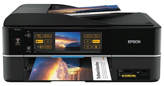 Сброс памперса Epson Stylus Photo PX810FW и прошивка принтера