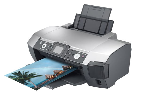 Сброс памперса Epson Stylus Photo R350