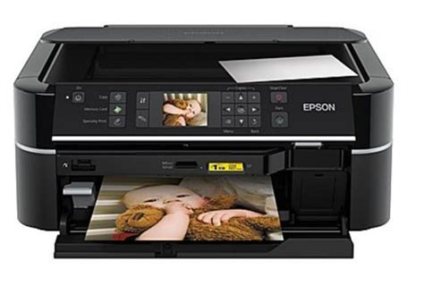 Сброс памперса Epson Stylus Photo TX659