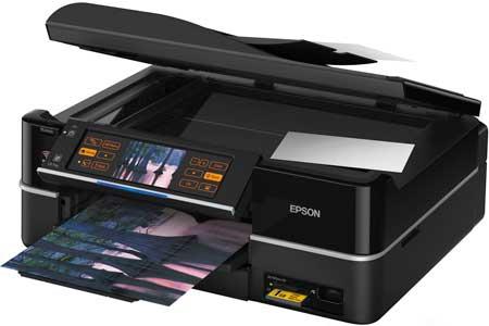 Сброс памперса Epson Stylus Photo TX700W и прошивка принтера
