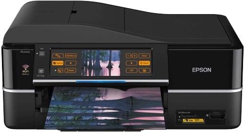 Сброс памперса Epson Stylus Photo TX800FW и прошивка принтера