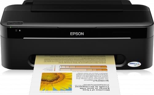 Сброс памперса Epson Stylus S22