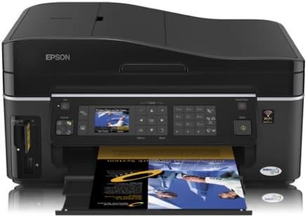 Сброс памперса Epson Stylus SX600FW и прошивка принтера